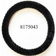 Volánvédő  plüss 37-38cm fekete  KV-TH38536BK