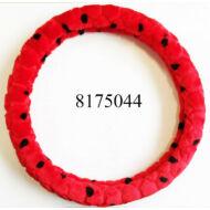 Volánvédő  plüss 37-38cm piros pöttyös KV-TH38536R