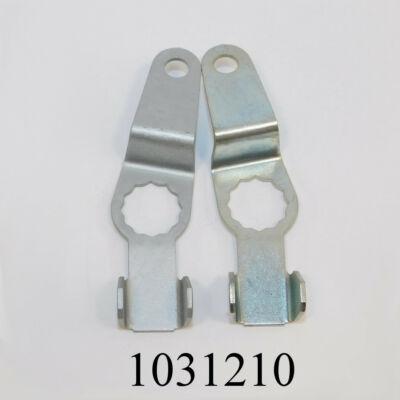 Fékcsőbiztosító lemez Lada 2110 - Niva 4féle, vegyesen