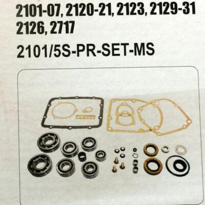 Csapágygarnitúra Lada és Niva 5 sebességes sebváltóhoz Master Sport Premium tömítésekkel