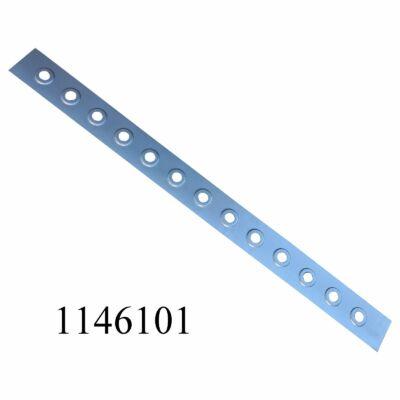 Küszöb Lada középső (perforált lemez, merevítő)