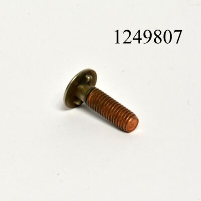 Krómcsíkrögzítő csavar Lada 2107 lökhárítóhoz két stiftes 26mm