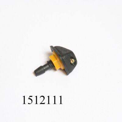 Ablakmosó spricni csavaros 1lyukas, porlasztós (fúvóka) 8mm-es furatba