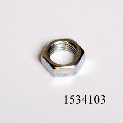 Ablaktörlőcsonkcsavaranya M16x1.5 keskeny krómos Lada, Niva