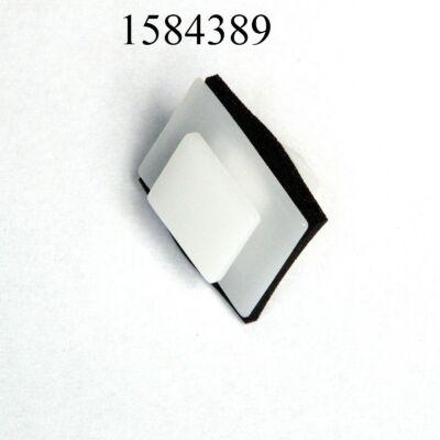 Patent díszléc Hyundai 10x12mm 187952 csap 9x12 fehér gumis
