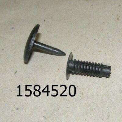 Patent kárpit Ford fekete C10100 7x24mm