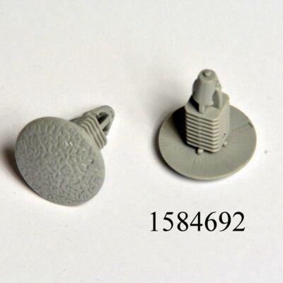 Kárpitpatent Daewoo Lanos/Matiz szögletes 7mm-s