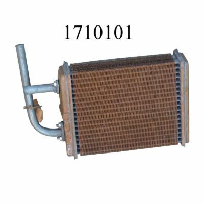 Fűtőradiátor Lada 2101-2103 réz, Niva is!