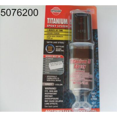 K2 VE fémragasztó  Titanium Epoxy 47909