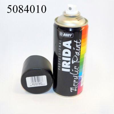 Festék spray fekete matt 400 ml IRIDA RAL9001 501.00.9000.0