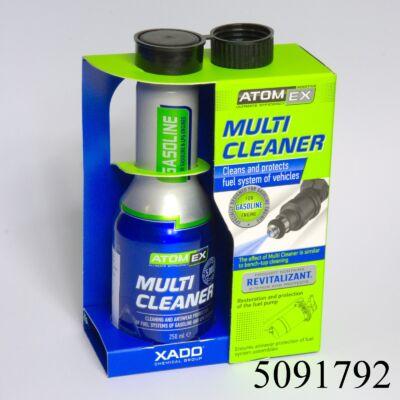 Benzinadalék XADO Atomex Multi Cleaner 250ml XA40013 60literhez