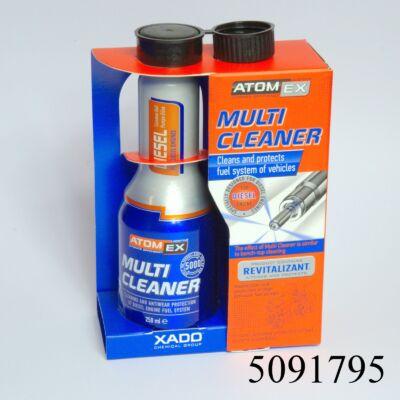 Gázolajadalék XADO Atomex Multi Cleaner 250ml XA40113 60literhez