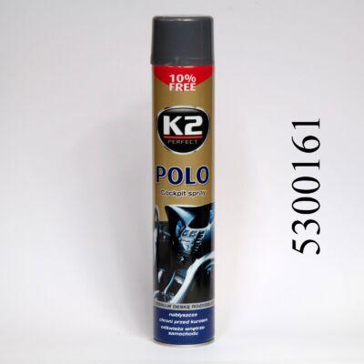 K2 műszerfalápoló MAN szürke POLO COCKPIT MAX 750ml K407MAO