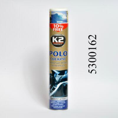 K2 műszerfalápoló FEHÉR Fresh COCKPIT MAX 750ML