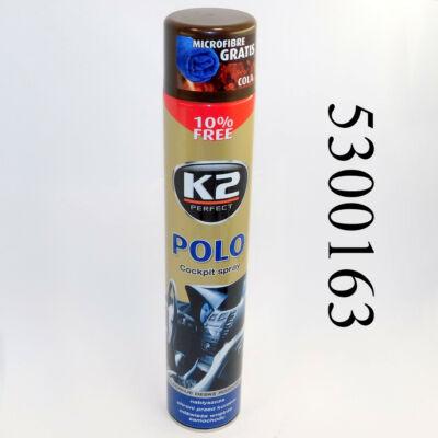 K2 műszerfalápoló Kola POLO COCKPIT MAX 750ml K407CO0