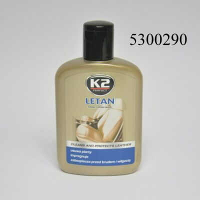 K2 bőrtisztító és bőrápoló Letan 200g