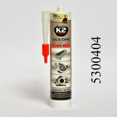 K2 tömítőpaszta RED kartus 304ml piros szilikon