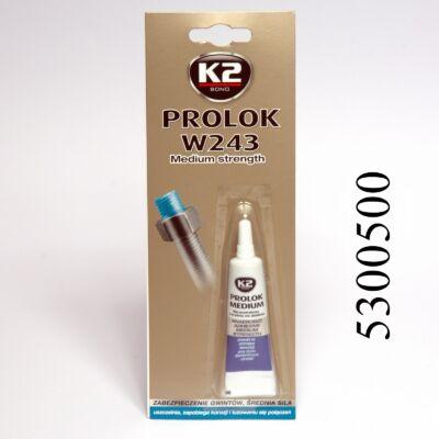 K2 csavarrögzítő kék, oldható PROLOK 243 6ml