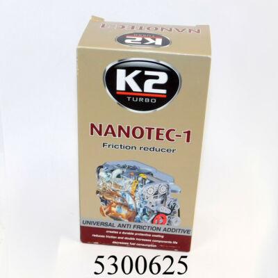 K2 NANOTEC-1 fémnemesítő adalék olajhoz 250ml nanotechnológiás (METABOND, PROLONG stb.)
