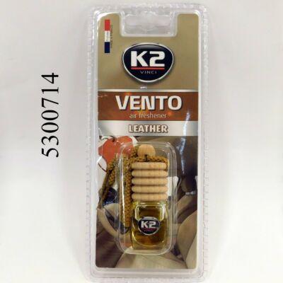 K2 VENTO-Leather  illatosító parafadugós