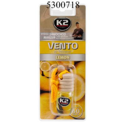 K2 VENTO citrom illatosító parafadugós 8ml