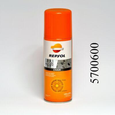 Lánckenő spray Repsol 400ml motorkerékpárhoz