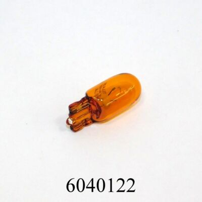 Izzó 12V 5W foglalat nélküli narancs T10 W17169  501A amber