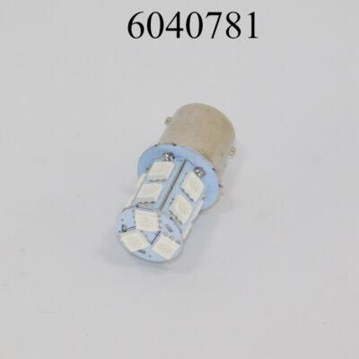 Izzó LED 12V BA15S (21W) sárga 13smd LED 1156-13smd /CSERESZNYE FOGL./