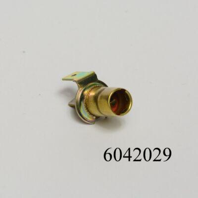 Izzófoglalat BA9 (4W-hoz) kicsi fém 2kontaktos Lada helyzetjelzőhöz, műszerekhez