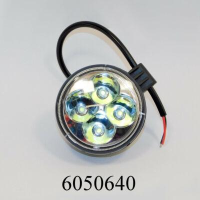 Munkalámpa 4LED 5W kerek 10-30V ML-LW5012R/5W