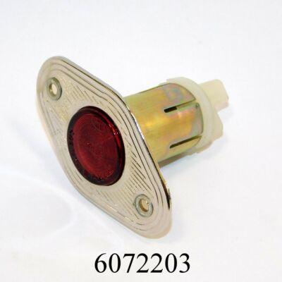 Ajtóél lámpa piros L2103