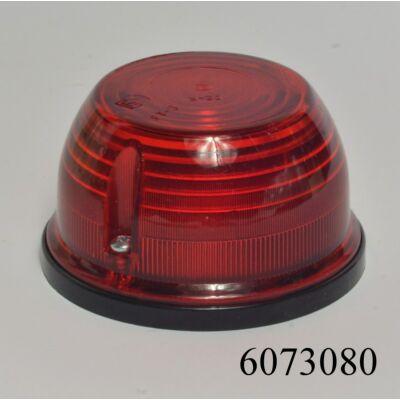 Szélességjelző lámpa kerek piros FT-008C