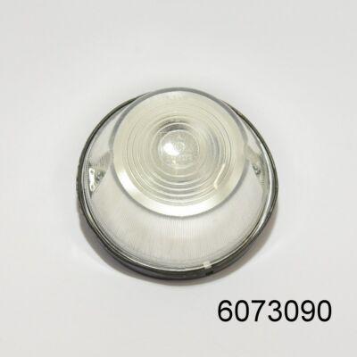 Szélességjelző lámpa kerek fehér FT-008B 87x48mm