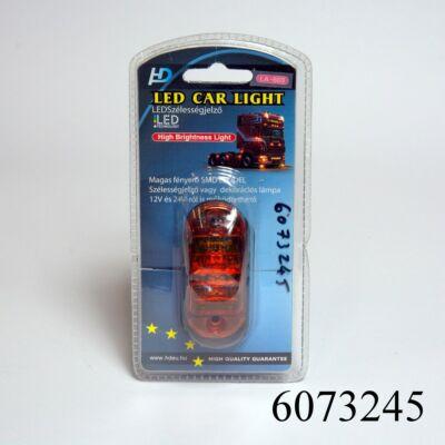 Szélességjelző LA569Y LED-es ovál sárga 12/24V 2FU E-jeles!