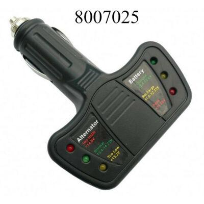 Akkuteszter ledes AE-CC61716 voltmérő feszültségmérő