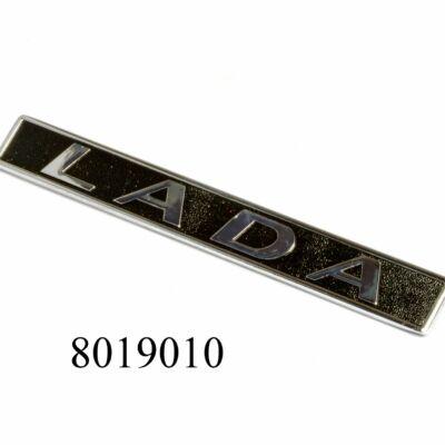 """Embléma-felirat """"LADA"""" Lada, Samara gyári fém"""