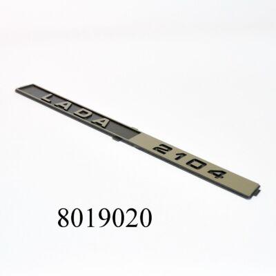 """Embléma-felirat """"LADA 2104"""" hátsó gyári"""