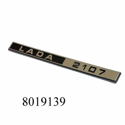 """Embléma-felirat hosszú """"LADA 2107"""" hátsó"""