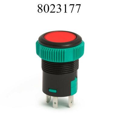Nyomógomb zöld  kapcsoló 12V 20A 09154RD