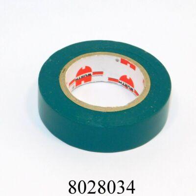 Szigetelőszalag zöld 15mmx10m-s Würth