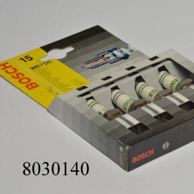 Gyújtógyertya BOSCH  W7DC garnitúra (4db) 0241236821