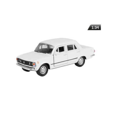 Modell autó/makett/ Fiat 125P PRL fehér CMA884F125B