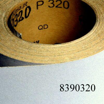 Csiszolópapír tekercses P320 115mm-s /méter