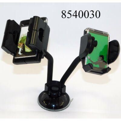 Telefontartó PDA dupla S2107+S2081W+XP-A8 =Rufus C-42206