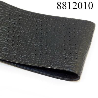 Volánvédő fűzős műbőr 37-39cm fekete 92261