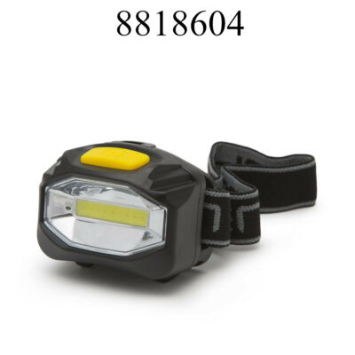 Homloklámpa SMD LED-es (fejlámpa) COB 18628 + elem 3db