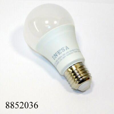 LED izzó 230V 9.5W, E27 foglalattal, INESA 180fok, 6500K hidegfehér 680lm