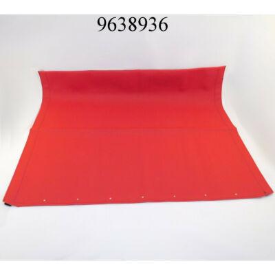 Tetővászon Fiat 500 piros