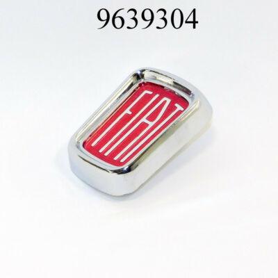 Embléma Fiat 500 Piros