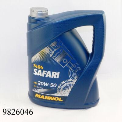 Motorolaj MANNOL Safari 20w50 5l